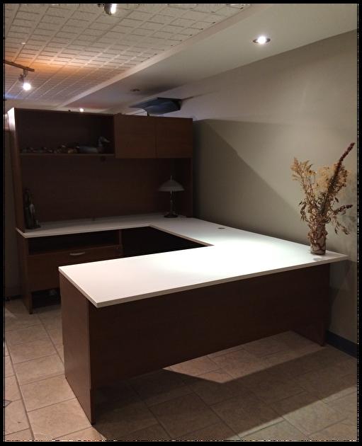 Poste en u lacasse mobilier de bureau liquidations mobiliers h moquin - Liquidation mobilier de bureau ...