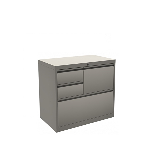 classeur multifonction gris rangement de bureau. Black Bedroom Furniture Sets. Home Design Ideas