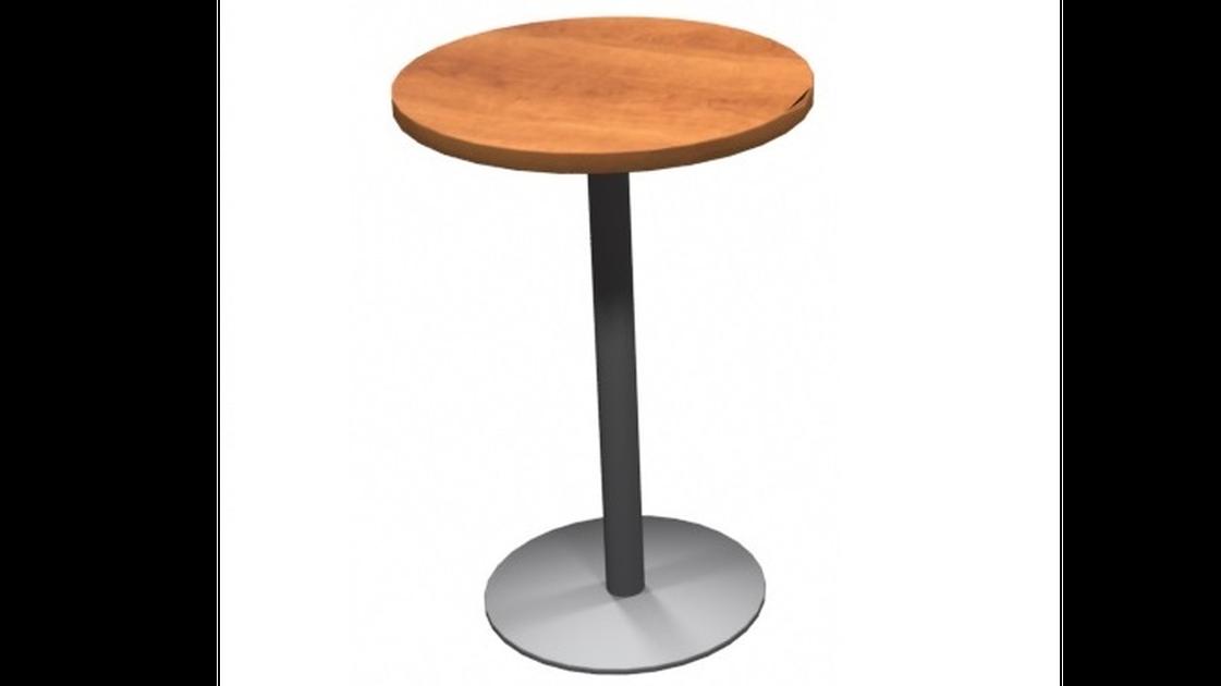 Table ronde cerisier naturel mobilier de bureau for Mobilier liquidation