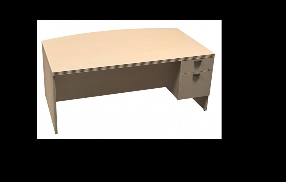 Bureau en arc rable mobilier de bureau liquidations - Liquidation meuble de bureau ...