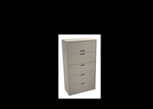 liquidation de Classeur de bureau Classeur 5 tiroirs beige