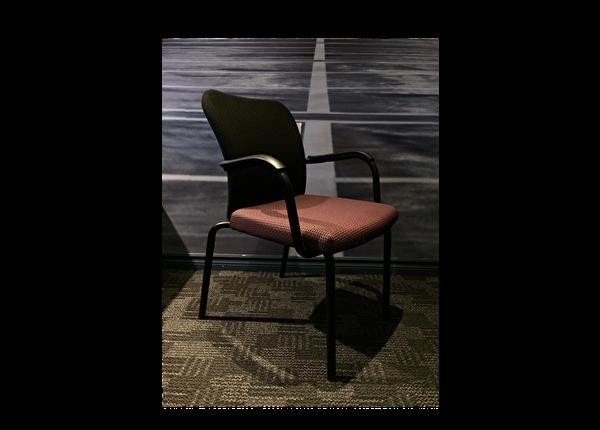 liquidation de Chaise de bureau Chaise visiteur Lacasse Onyx