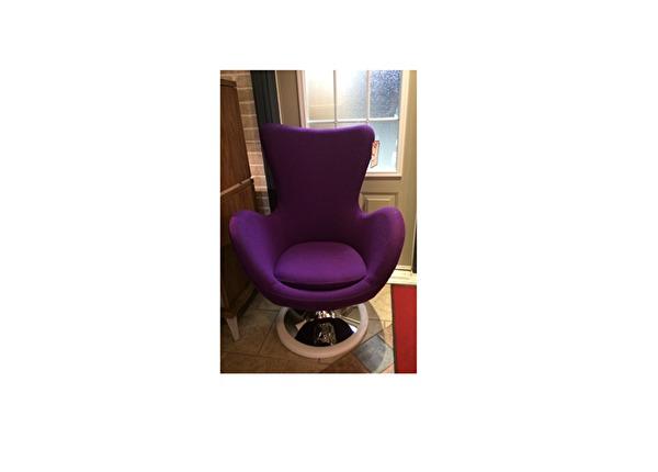 liquidation de Fauteuil de bureau Fauteuil Chair Tech Como mauve