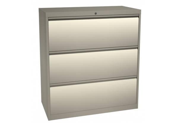 liquidation de Classeur de bureau Classeur 3 tiroirs putty