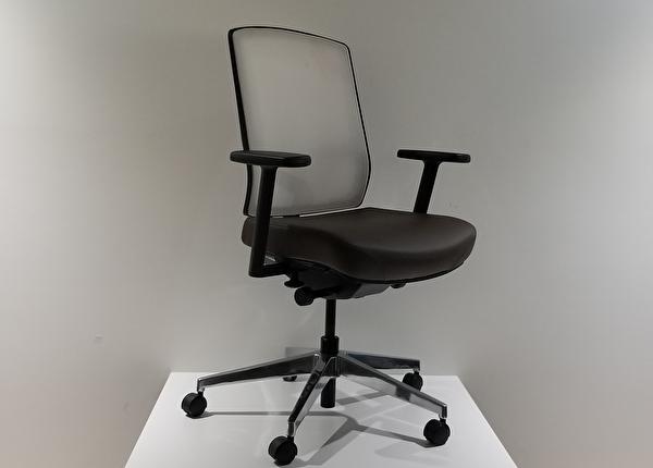 liquidation de Chaise de bureau Chaise expression brune