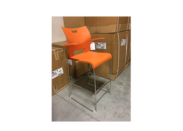 liquidation de Fauteuil de bureau Chaise Haute Global Orange