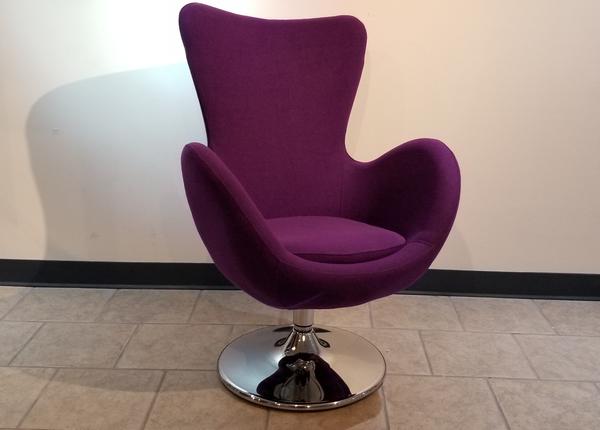 liquidation de Fauteuil de bureau Fauteuil Como violet