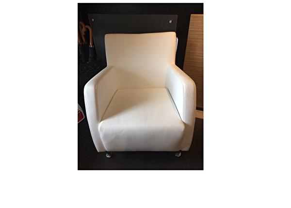 liquidation de Fauteuil de bureau Fauteuil Chair Tech Como blanc